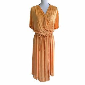 Scotch & Soda Mango Wrap Dress. Size Medium